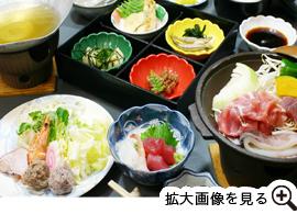 串本定食1800円