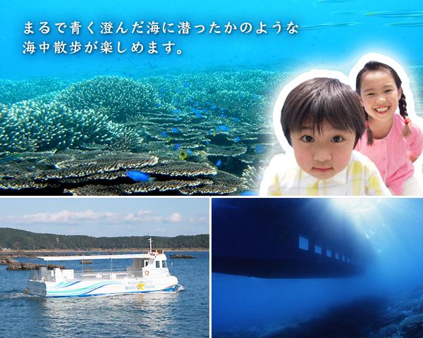 半潜水型海中観光船 ステラマリス